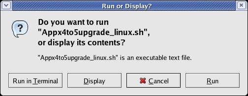 APPX500LinuxUpgradeInstallation < Main < TWiki